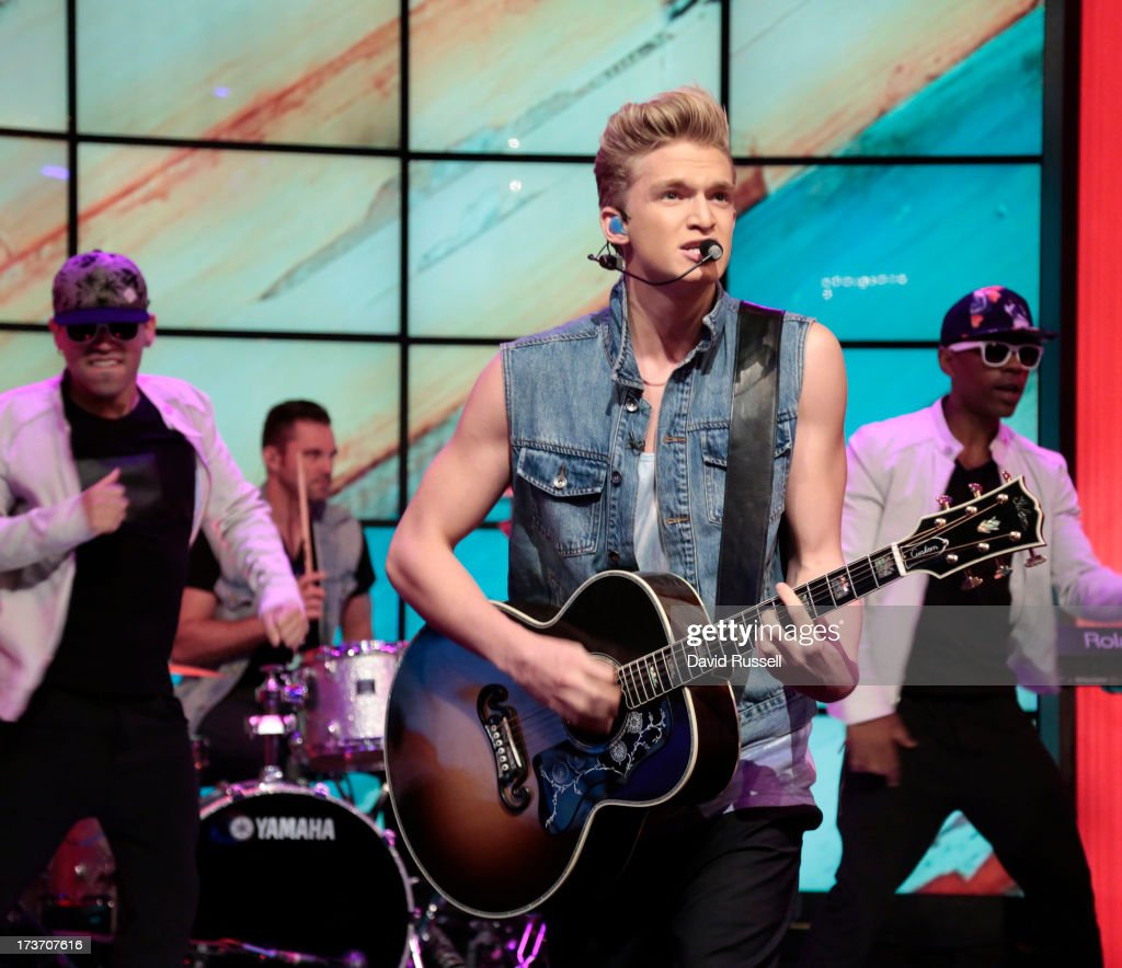 MICHAEL -7/16/13 - Cody Simpson performs on 'LIVE with Kelly and Michael,' distributed by Disney-ABC Domestic Television. SIMPSON performs