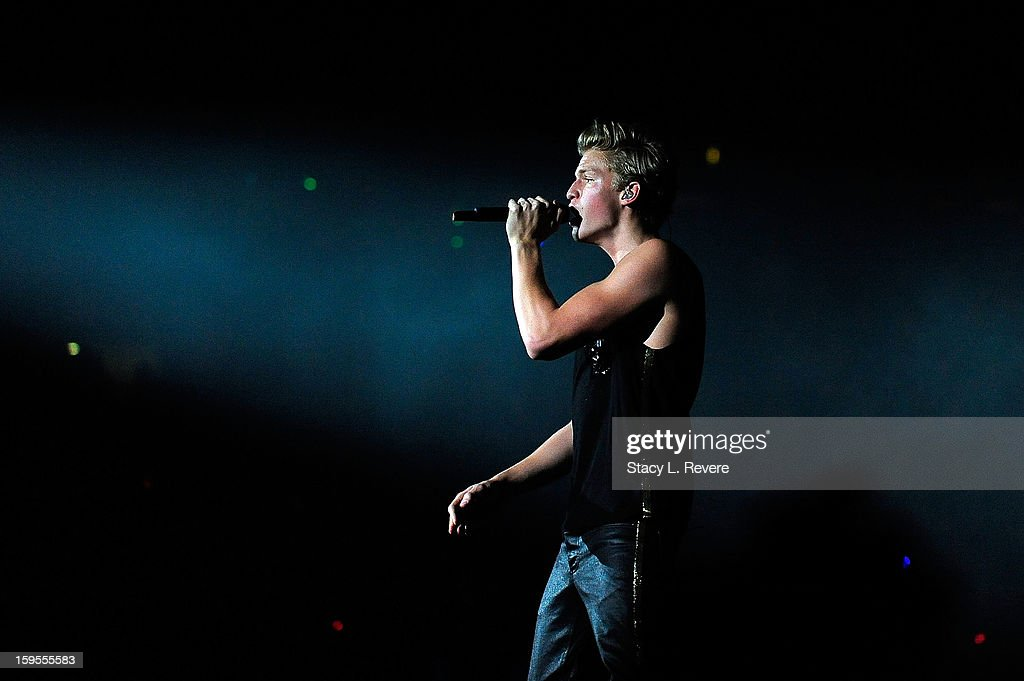 Cody Simpson performs onstage at the New Orleans Arena on January 15, 2013 in New Orleans, Louisiana.