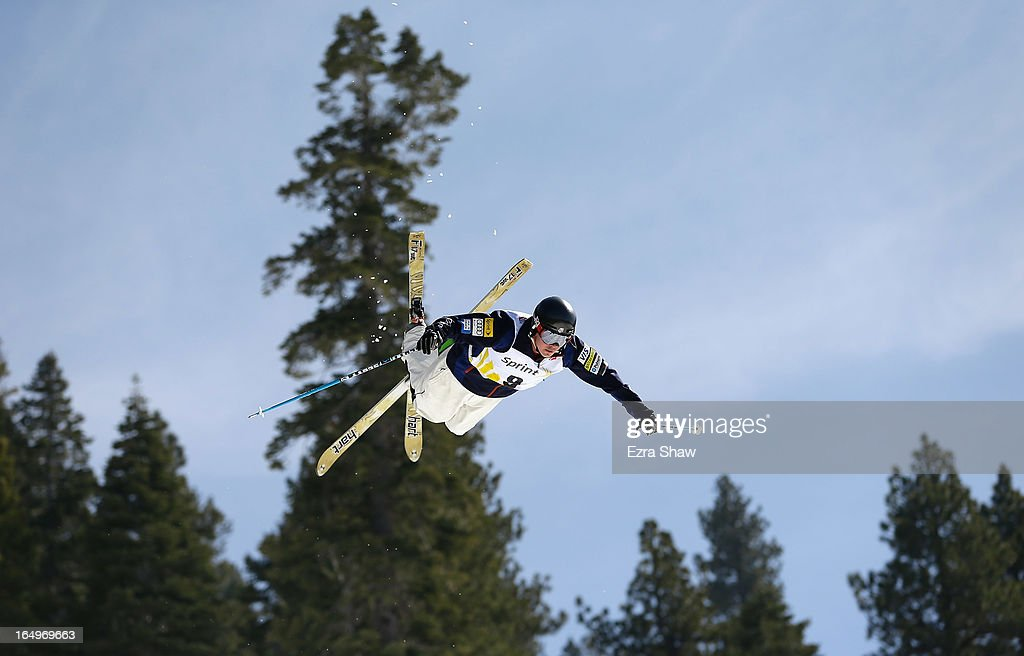 Cody Tempel competes in the Men's Moguls at the U.S. Freestyle Moguls National Championship at Heavenly Resort on March 29, 2013 in South Lake Tahoe, California.