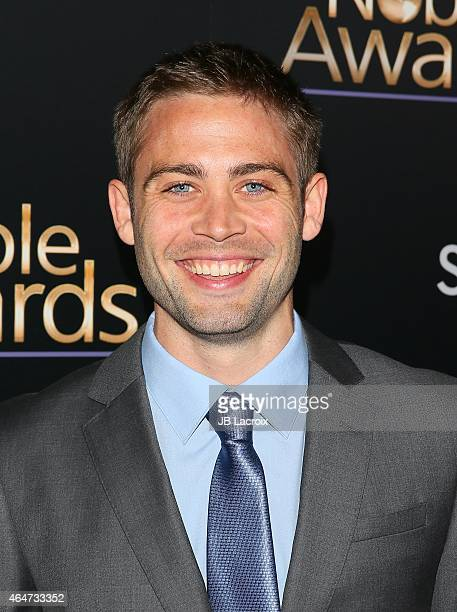 Cody Walker attends the 3rd Annual Noble Awards held at the Beverly Hilton Hotel on February 27 2015 in Beverly Hills California