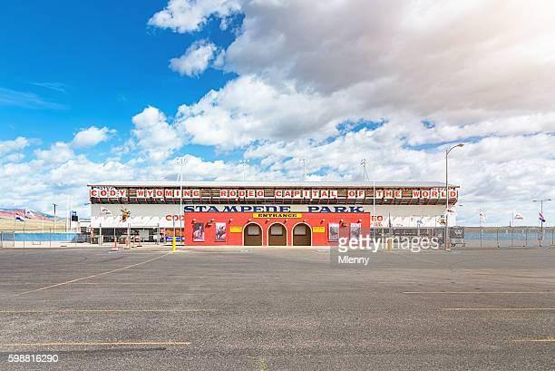 Cody Wyoming Rodeo Stampede Park Arena Wyoming USA