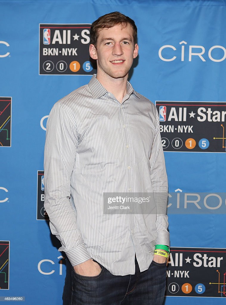 Cody Zeller attends NBA All-Star Saturday Night Powered By CIROC Vodka at Barclays Center on February 14, 2015 in New York City.
