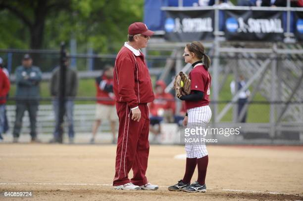 Coe College takes on Messiah College during the Division III Women's Softball Championship held at the Montclair State University Softball Stadium in...