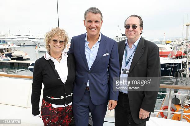 CoEditorinChief of Variety Claudia Eller Founder and Chief Executive Officer of IM Global Stuart Ford and Executive Editor at Variety Steven Gaydos...
