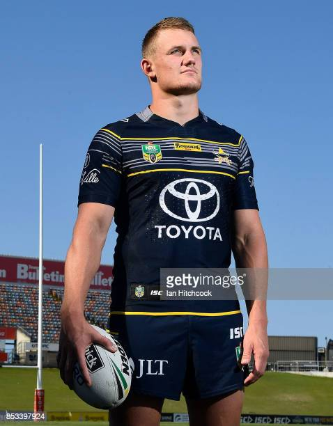Coen Hess of the Cowboys poses during a North Queensland Cowboys NRL media opportunity at Cowboys HQ on September 25 2017 in Townsville Australia