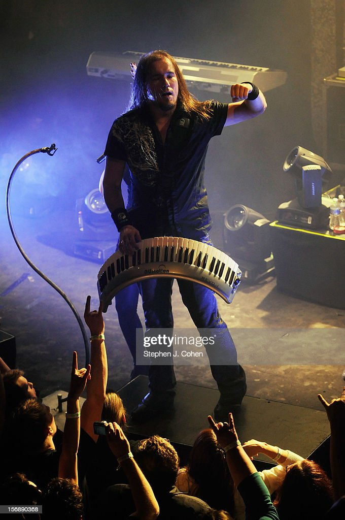 Coen Janssen of Epica performs in concert at Headliners Music Hall on November 23, 2012 in Louisville, Kentucky.