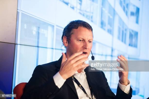 Coen van Oostrom during the Sime Awards at Epicenter on November 16 2017 in Stockholm Sweden
