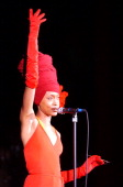 DENVER COErykah Badu during her performance at Red Rocks Thursday evening THE DENVER POST/ ANDY CROSS