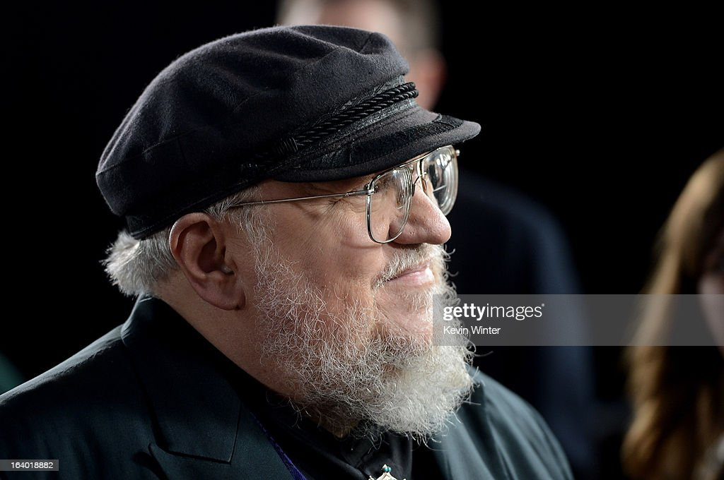 Co-Executive Producer George R.R. Martin arrives at the premiere of HBO's 'Game Of Thrones' Season 3 at TCL Chinese Theatre on March 18, 2013 in Hollywood, California.