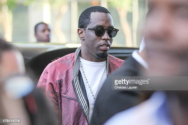 Coexecutive producer Sean 'Diddy' Combs arrives at the Los Angeles Film Festival premiere of 'Dope' at Regal Cinemas LA Live on June 8 2015 in Los...