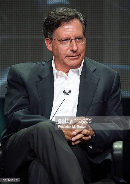 Coexecutive producer Tom Werner speaks onstage at the 'Survivors Remorse' panel during the Starz portion of the 2014 Summer Television Critics...