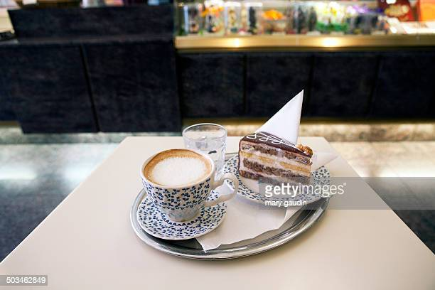 Coffe and Cake In Vienna