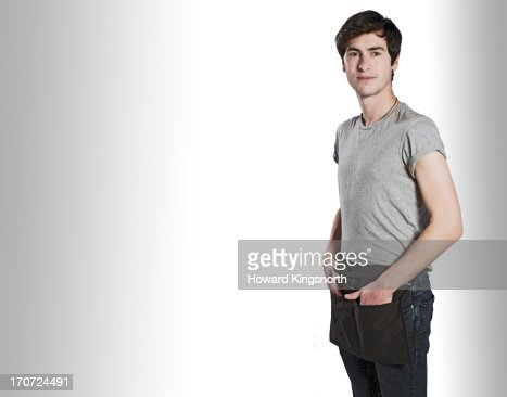 Coffe shop worker : Stock Photo