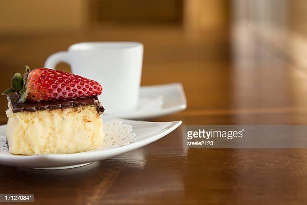 Coffee and Cheesecake