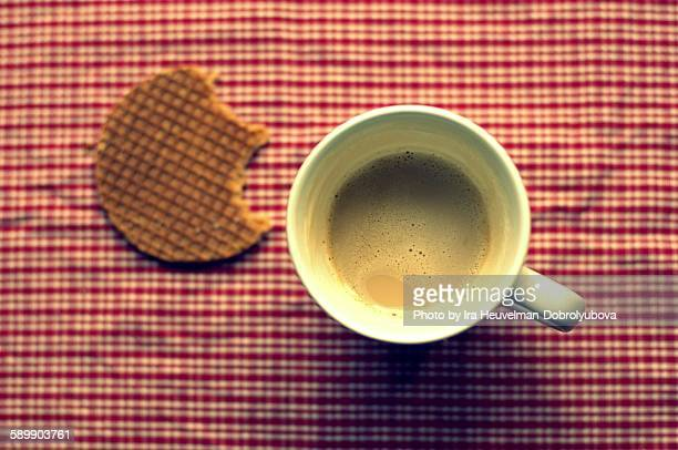 Coffee and stroopwafel