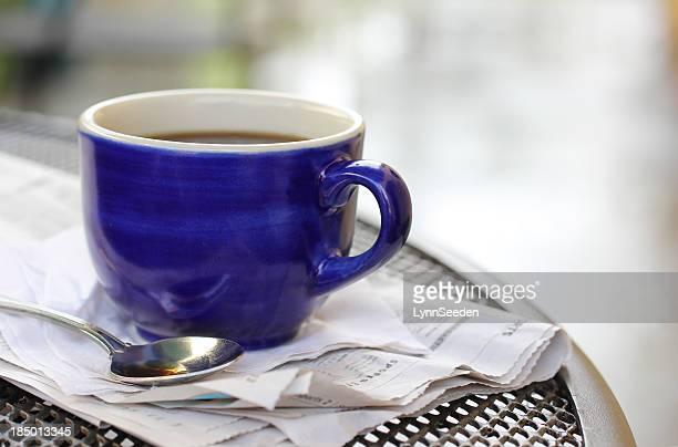 「カフェ」でのコーヒー