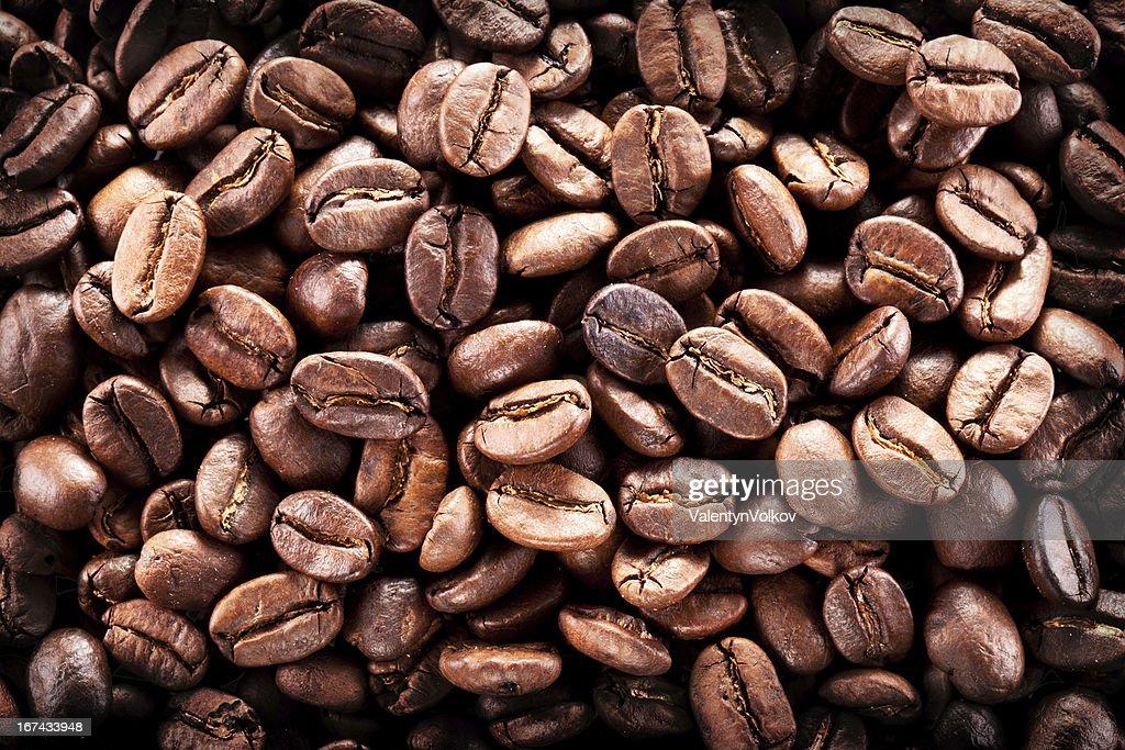 Granos de café. : Foto de stock