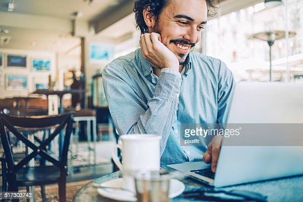 Coffee break and internet