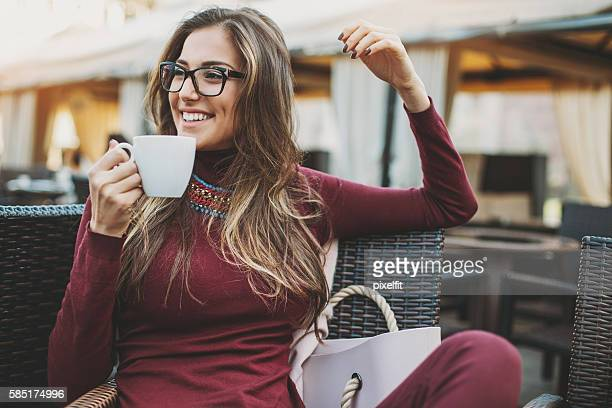 Coffee break and lifestyle