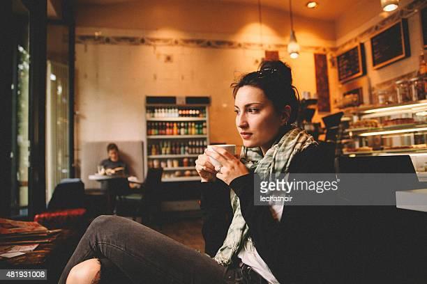 Kaffeepause Kreuzberg in Berlin.