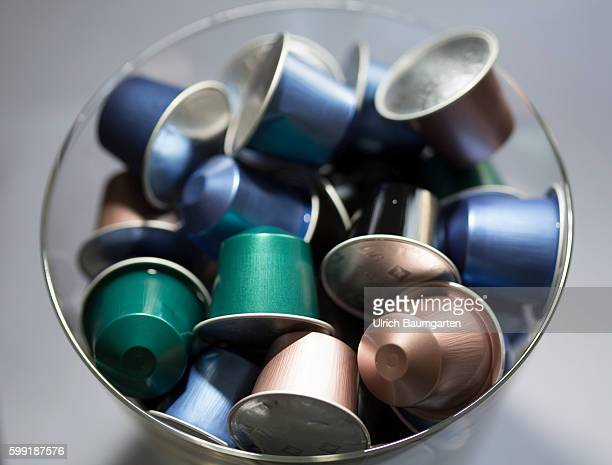Coffee capsules for the quick and convenient coffee but with problems for the environment