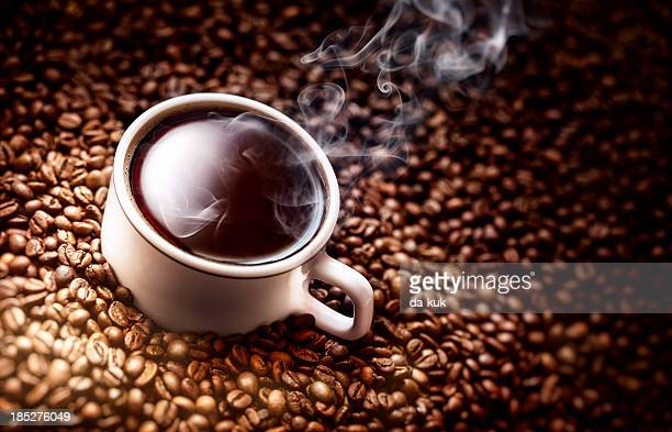 Copo de café Plano aproximado.