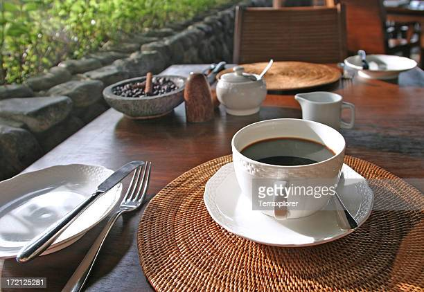 Coffee Cup On Table, Bali