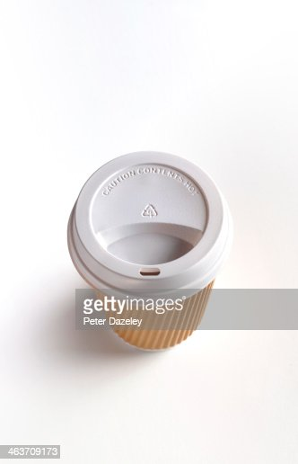 Coffee cup with copy space