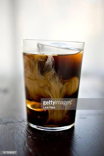 Kaffee-drink mit Eis
