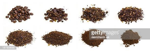 Kaffee-Gelände