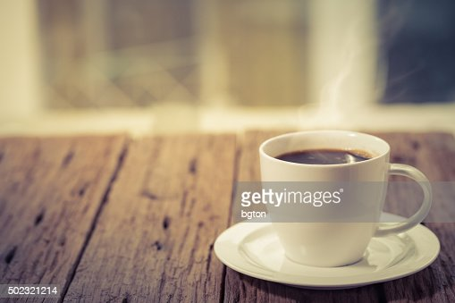 Coffee hot cup : Stock Photo