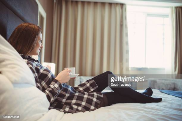 Coffee in bed