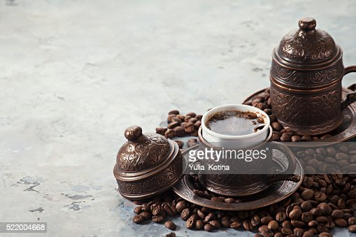 Coffee in Turkish style : Stock Photo