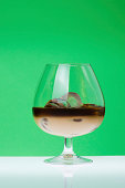 Glass cup of Coffee Liqueur