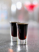 Coffee Liquore shooters -Photographed on Hasselblad H1-22mb Camera