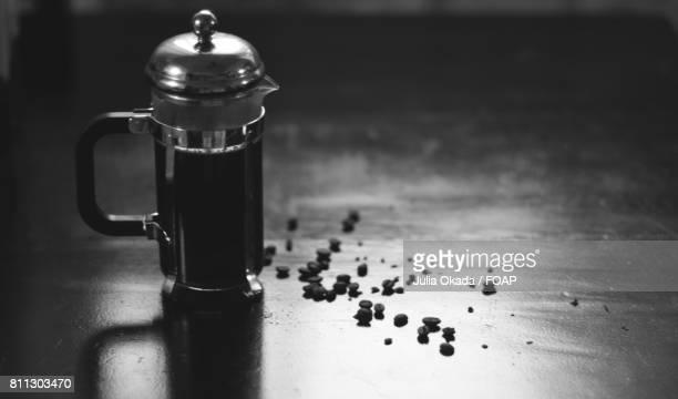 Coffee maker and coffee bean