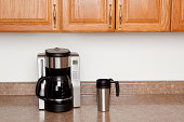Coffee Maker and Travel Mug