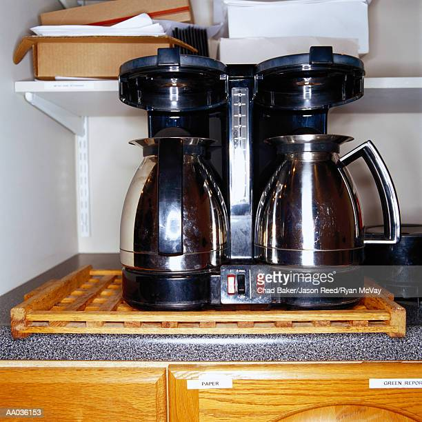 Coffee Maker in an Office