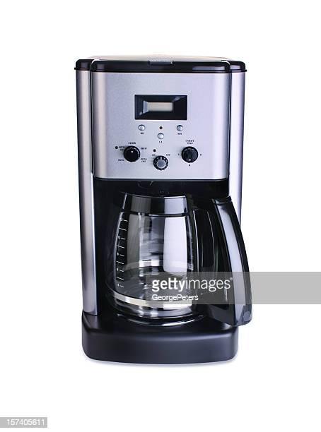 Macchina per il caffè isolato su bianco