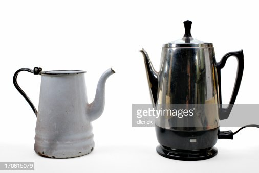 Old Time Coffee Maker : Old Fashioned Coffee Pot Stock Photos and Pictures Getty Images