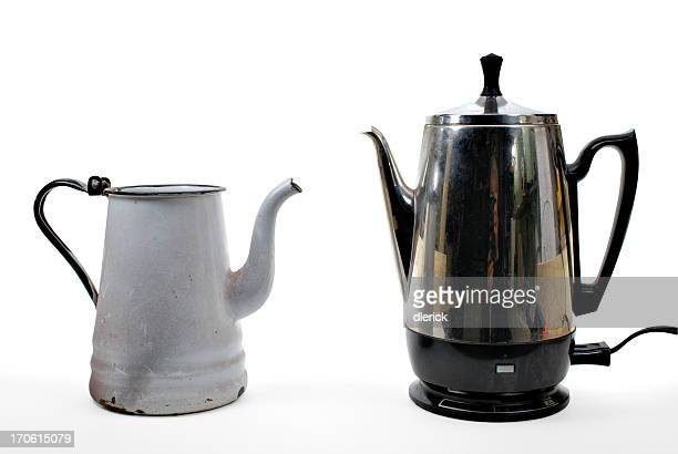 coffee makers old and new