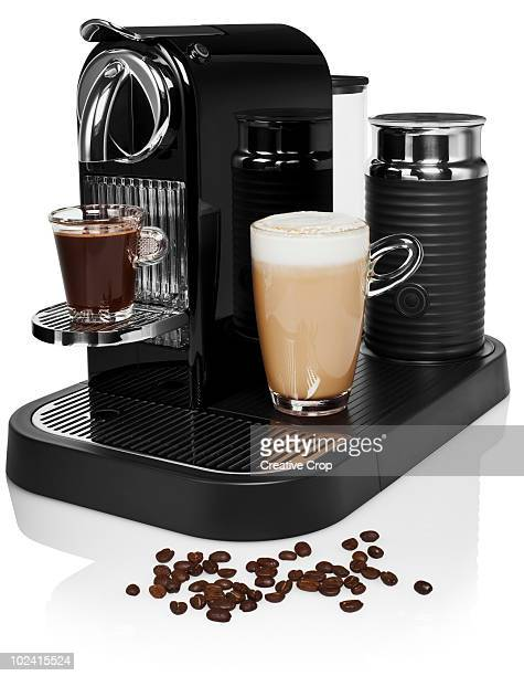 Coffee making machine, with espresso and latte