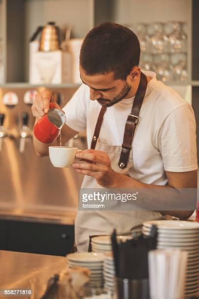 Processus de café