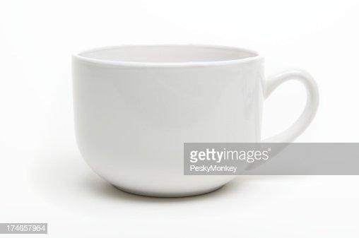 Coffee Mug with Shadow White Background