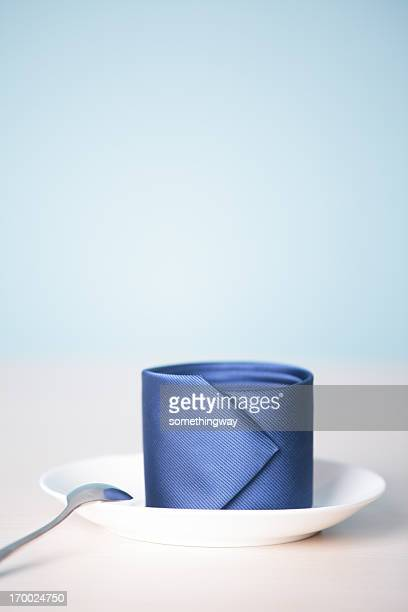 Coffee on the desk