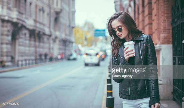 Kaffee auf der Straße