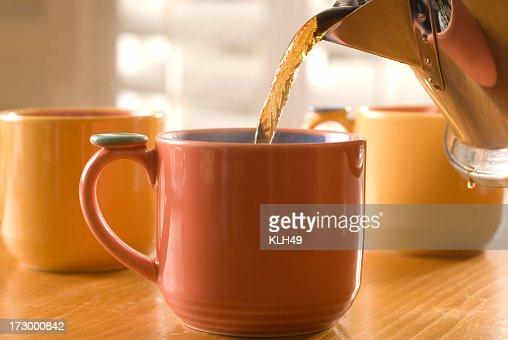 Coffee or Tea pour