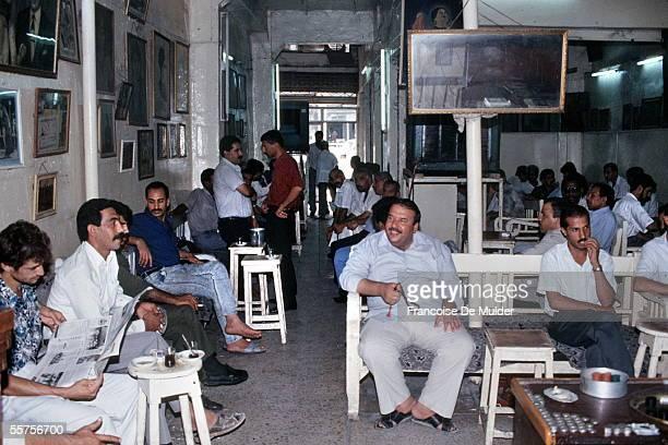 Coffee Oum Kalsoum Baghdad in August 1991 FDM7381