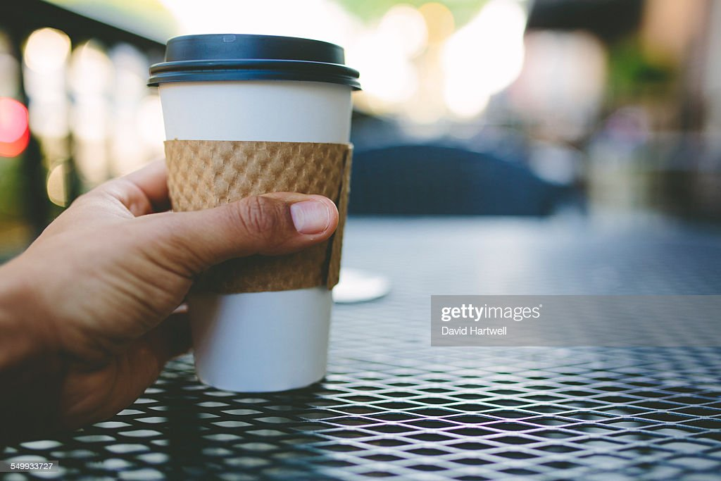 Coffee Point of View : Stock Photo