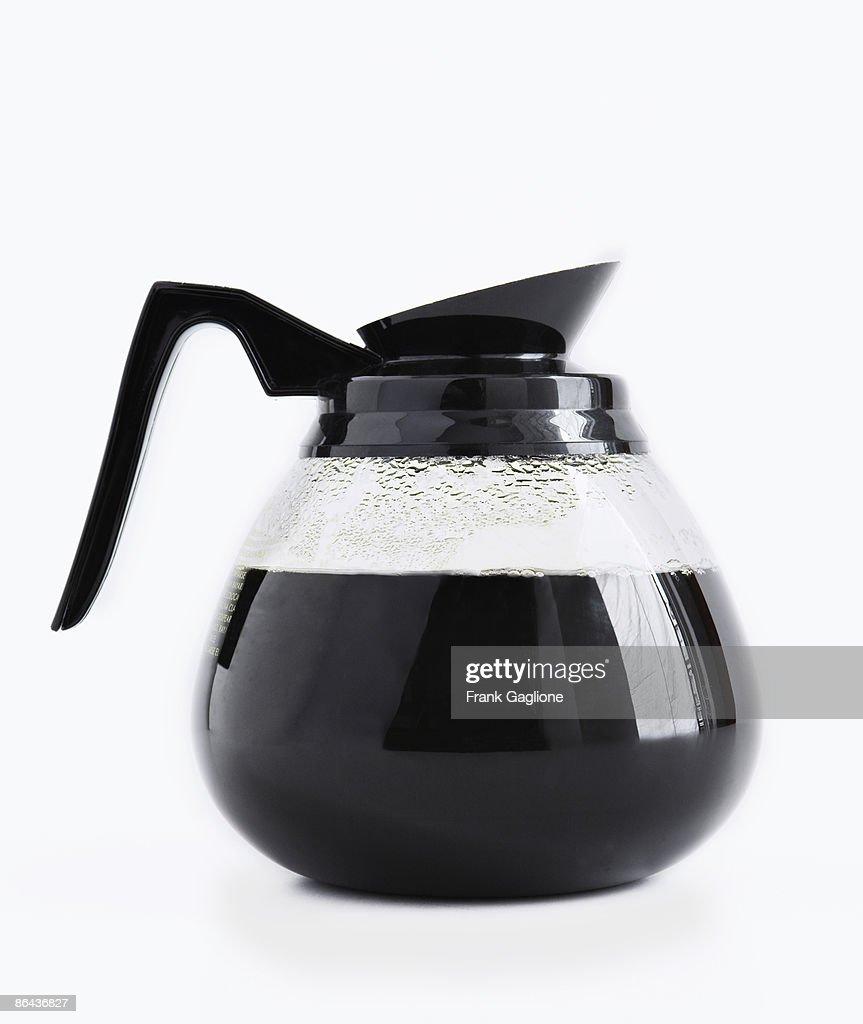 Coffee Pot on White.